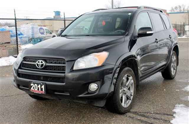 2011 toyota rav4 sport 4x4 sunroof alloy wheels. Black Bedroom Furniture Sets. Home Design Ideas
