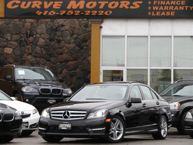 2012 mercedes benz c class c300 4matic amg navigation panoramic xenon park black curve motors. Black Bedroom Furniture Sets. Home Design Ideas