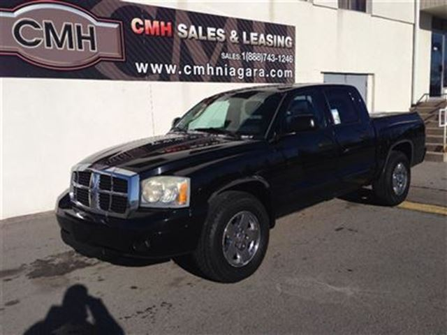 used 2005 dodge dakota slt v8 alloys loaded certified for 7997 in st catharines ontario 2033554. Black Bedroom Furniture Sets. Home Design Ideas