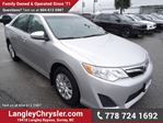 2013 Toyota Camry LE w/ Power Accessories & A/C in Surrey, British Columbia