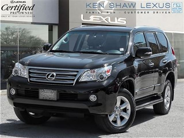 2012 lexus gx 460 premium with navigation black ken shaw lexus. Black Bedroom Furniture Sets. Home Design Ideas