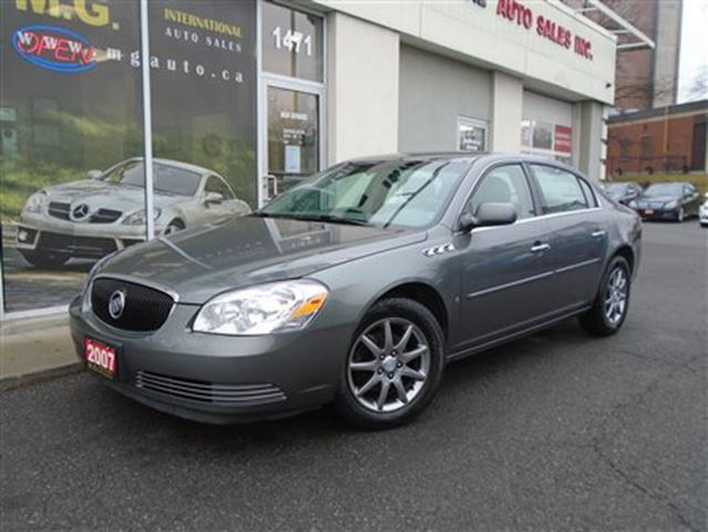 2007 buick lucerne v6 cxl ottawa ontario used car for sale 2370740. Black Bedroom Furniture Sets. Home Design Ideas