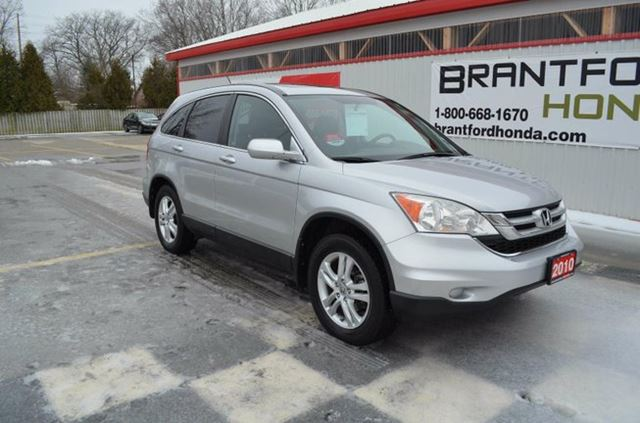 2010 honda cr v ex l 4dr 4x4 navigation silver brantford for Honda crv exl with navigation