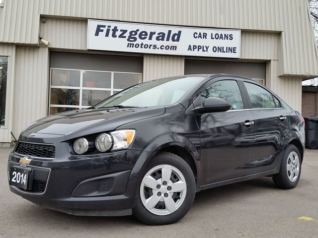 2014 chevrolet sonic lt black fitzgerald motors. Black Bedroom Furniture Sets. Home Design Ideas