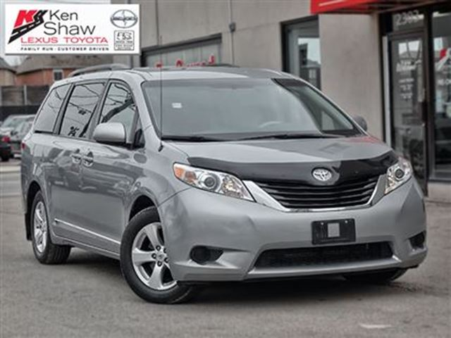 2014 toyota sienna le 8 passenger silver ken shaw toyota. Black Bedroom Furniture Sets. Home Design Ideas