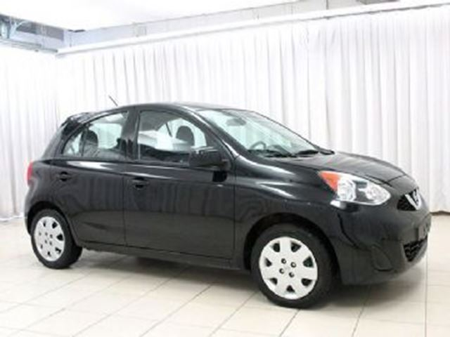2015 nissan micra mississauga ontario used car for sale. Black Bedroom Furniture Sets. Home Design Ideas