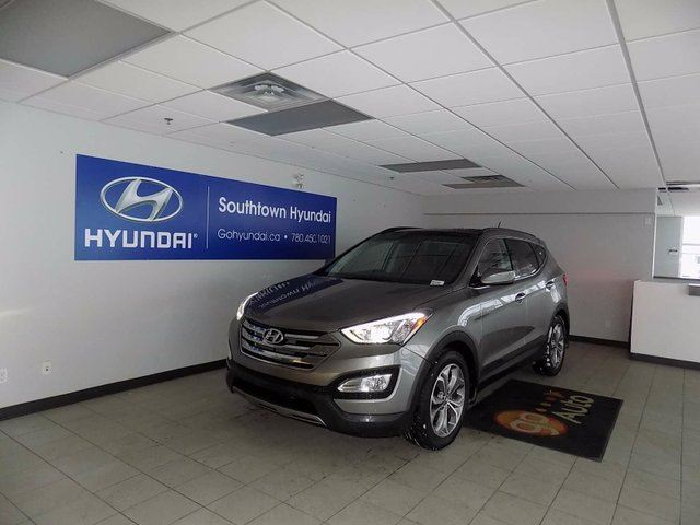 2014 hyundai santa fe 2 0t limited 4dr all wheel drive grey southtown hyundai. Black Bedroom Furniture Sets. Home Design Ideas