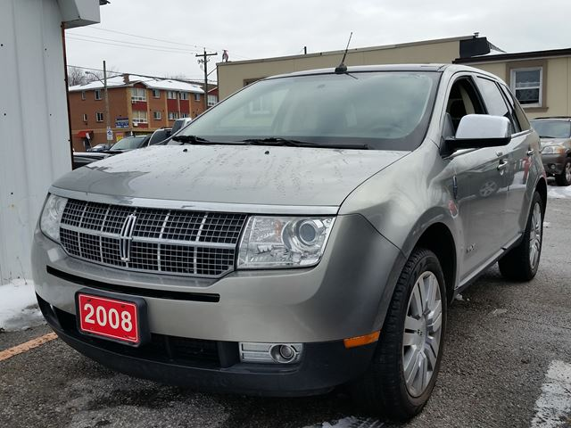 2008 lincoln mkx cert etested low kms grey gb. Black Bedroom Furniture Sets. Home Design Ideas
