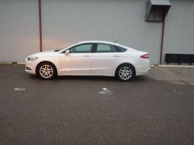 2014 Ford Fusion SE ECOBOOST WHITE