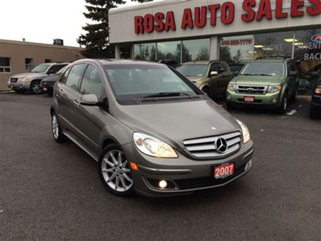 2007 Mercedes Benz B Class 4dr Hb Turbo Auto Gas Saver Pw
