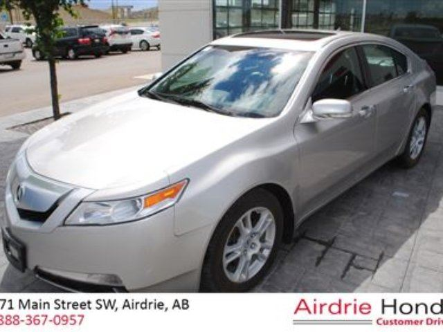 2010 acura tl base w technology package carproof clean silver airdrie honda. Black Bedroom Furniture Sets. Home Design Ideas