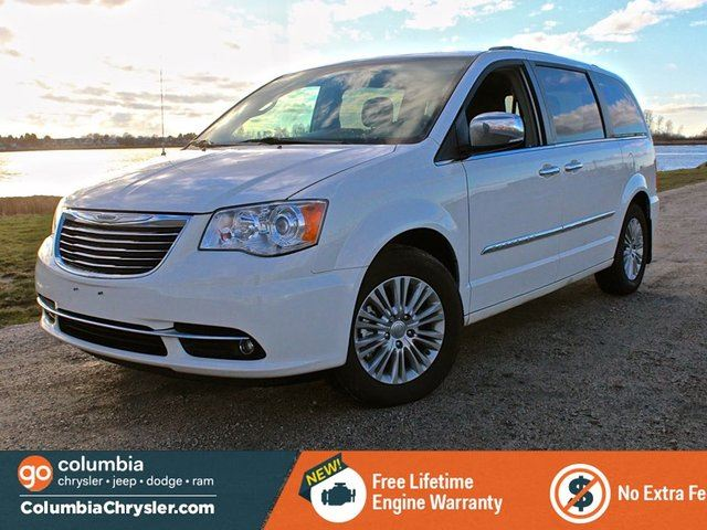 2012 chrysler town country limited white columbia. Black Bedroom Furniture Sets. Home Design Ideas