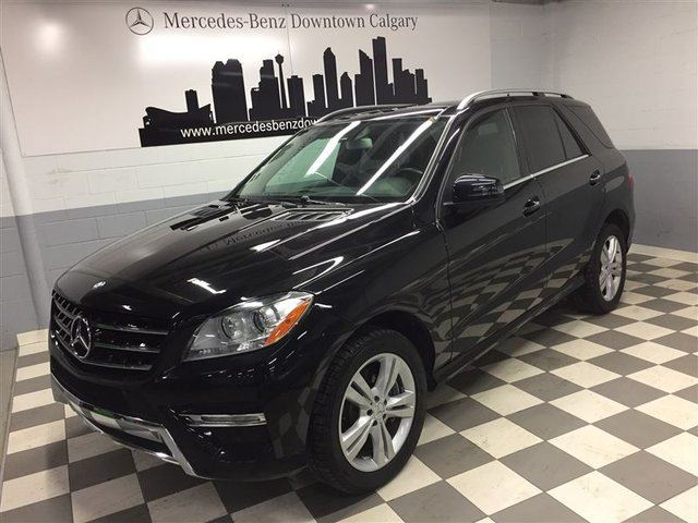 2013 MERCEDES-BENZ M-Class BlueTEC 4MATIC in Calgary, Alberta