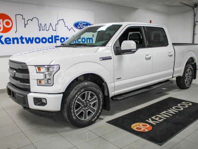 2015 ford f 150 lariat white kentwood ford. Black Bedroom Furniture Sets. Home Design Ideas