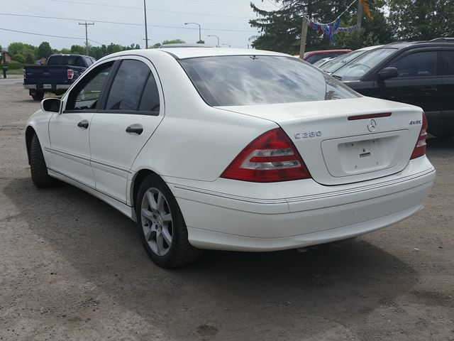 Tax On Used Car Ontario >> 2006 Mercedes-Benz C-Class C280 4matic 3.0L - Ottawa, Ontario Car For Sale - 2377128