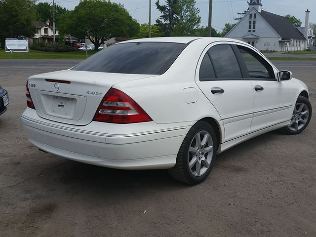 2006 mercedes benz c class c280 4matic 3 0l ottawa ontario car for sale 2377128. Black Bedroom Furniture Sets. Home Design Ideas