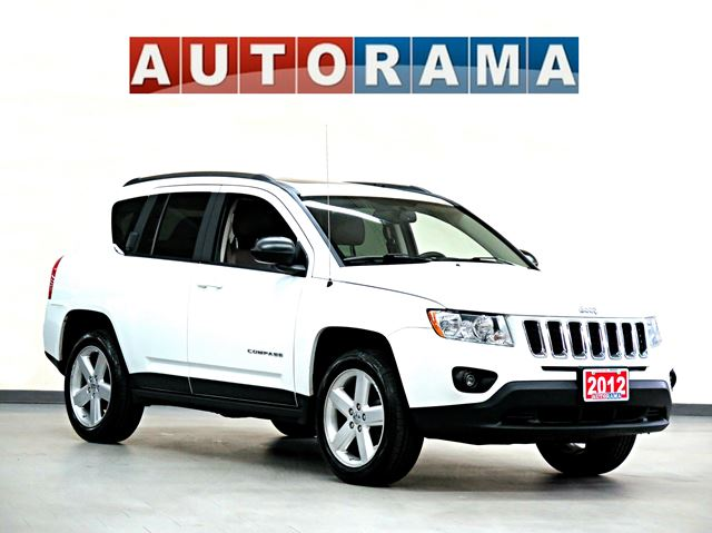 2012 jeep compass limited 4x4 leather sunroof north york. Black Bedroom Furniture Sets. Home Design Ideas