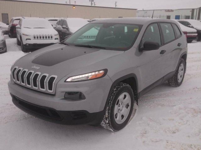 2015 Jeep Cherokee Sport Heated Seats Steering Wheel Command Start Silver St Paul Dodge