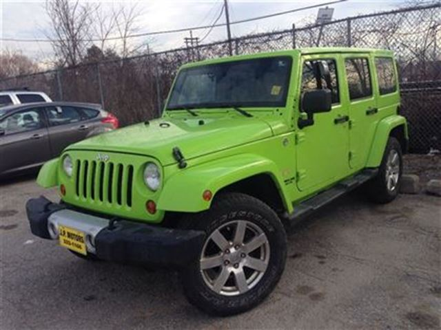 2012 jeep wrangler unlimited sahara light green j p motors. Black Bedroom Furniture Sets. Home Design Ideas
