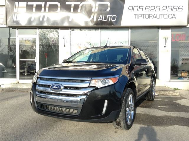 2013 ford edge limited navigation panoramic roof awd black tip top auto. Black Bedroom Furniture Sets. Home Design Ideas