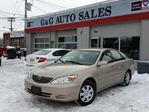 2003 Toyota Camry LE in Ottawa, Ontario