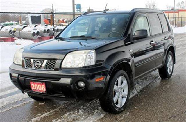 2006 nissan x trail bonavista edition 4x4 sunroof kitchener ontario used car for sale 2382067. Black Bedroom Furniture Sets. Home Design Ideas
