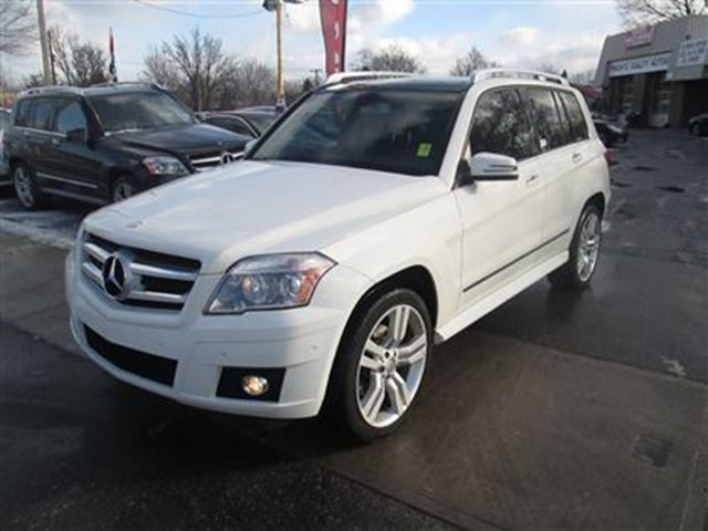 2010 mercedes benz glk class glk350 4matic white toronto for Mercedes benz lease with bad credit
