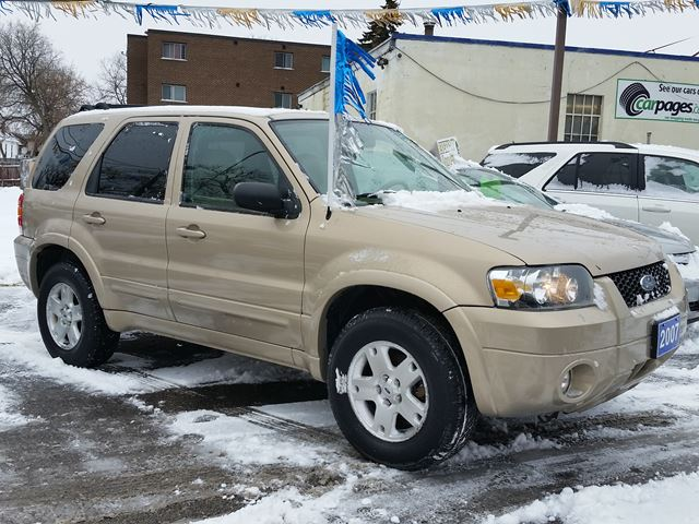 2007 ford escape limited 4x4 oshawa ontario used car for sale 2382305. Black Bedroom Furniture Sets. Home Design Ideas