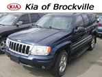 2004 Jeep Grand Cherokee Overland V8 4x4 in Brockville, Ontario