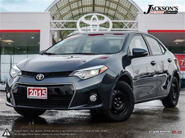 2015 toyota corolla s package toyota certified jackson 39 s toyota. Black Bedroom Furniture Sets. Home Design Ideas