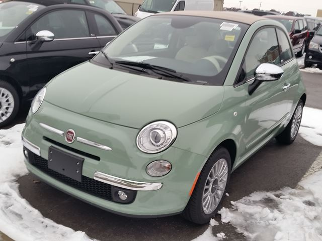 2015 fiat 500 lounge milton ontario new car for sale. Black Bedroom Furniture Sets. Home Design Ideas