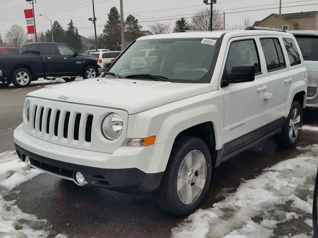 2016 jeep patriot high altitude 4x4 milton ontario new car for sale 2385431. Black Bedroom Furniture Sets. Home Design Ideas