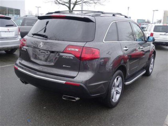 2012 acura mdx technology balance of factory warranties richmond british columbia used car. Black Bedroom Furniture Sets. Home Design Ideas