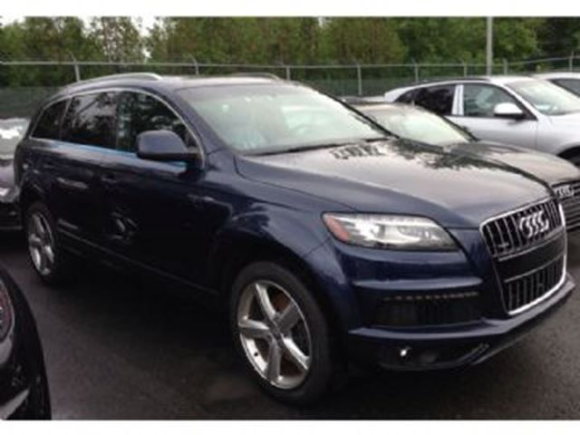 2013 audi q7 dark blue lease busters. Black Bedroom Furniture Sets. Home Design Ideas