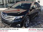 2013 Toyota Venza Base V6 *Navigation, Local One Owner Trade-In* in Airdrie, Alberta