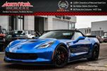 2015 Chevrolet Corvette Z06 3LZ Manual LOADED 6.2L Supercharged V8 650 HP HeadUp CarbonFibre Trim RARE! in Thornhill, Ontario