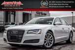 2014 Audi A8 3.0T LOADED! Quattro Nav SideAssist BOSE LED Lighting Leather RR Privacy 19 Alloys in Thornhill, Ontario