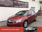 2013 Chevrolet Cruze LT ROOF B/TOOTH LOADED  *CERTIFIED* in St Catharines, Ontario