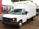 2015 GMC Savana 3500 16 FOOT UNICELL CUBE 6.0L ENGINE LOW KM FINANCING AVAILABLE in Edmonton, Alberta