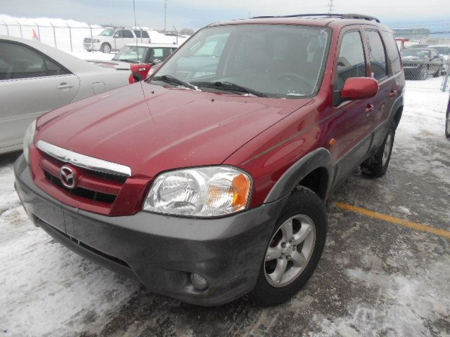 2005 mazda tribute red north toronto auction. Black Bedroom Furniture Sets. Home Design Ideas