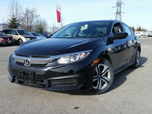 2016 honda civic lx black whitby oshawa honda new car. Black Bedroom Furniture Sets. Home Design Ideas