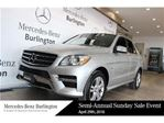 2012 Mercedes-Benz M-Class ML350 Bluetec 4matic in Burlington, Ontario