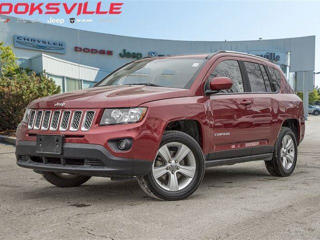 2014 Jeep Compass Sport North 4wd Alloys Red