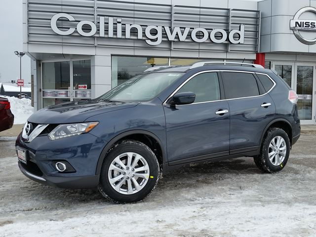 2016 nissan rogue sv awd new cash price blue collingwood nissan. Black Bedroom Furniture Sets. Home Design Ideas