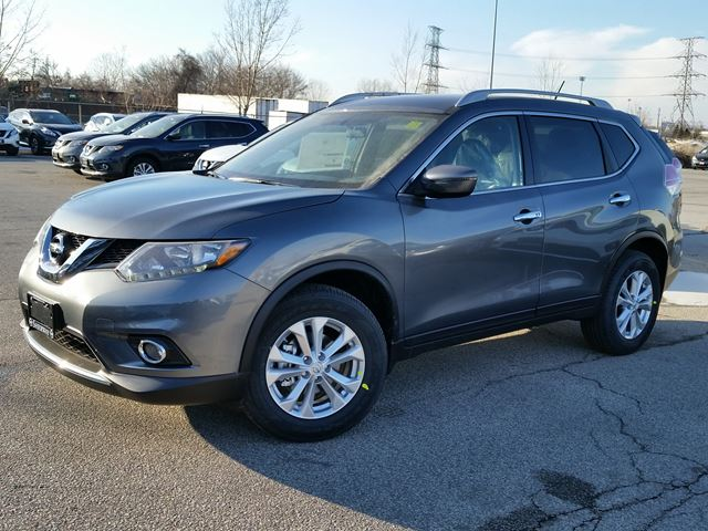 2016 nissan rogue sv awd grey sherway nissan new car. Black Bedroom Furniture Sets. Home Design Ideas
