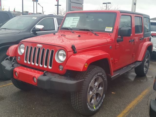 2016 jeep wrangler unlimited sahara 4x4 vaughan ontario car for sale 2392414. Black Bedroom Furniture Sets. Home Design Ideas