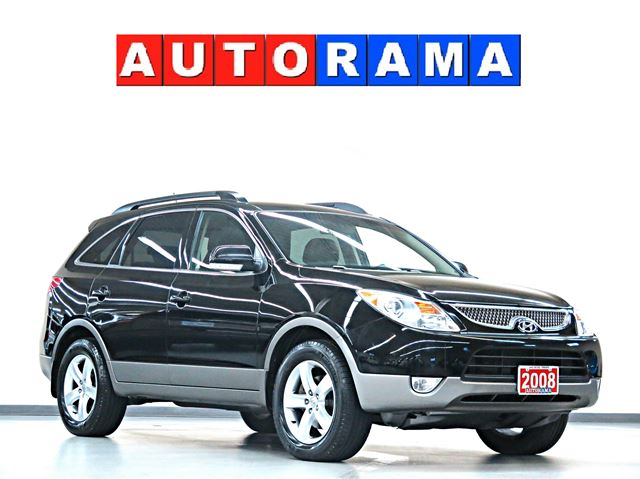 2008 hyundai veracruz gls leather sunroof 7 passenger awd. Black Bedroom Furniture Sets. Home Design Ideas
