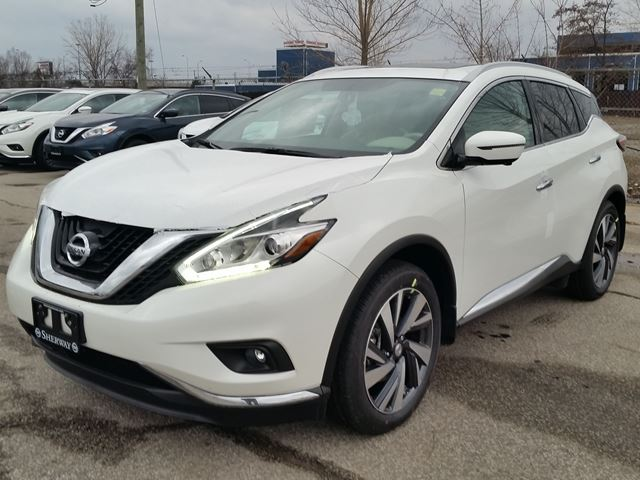 2016 nissan murano platinum awd white sherway nissan new car. Black Bedroom Furniture Sets. Home Design Ideas