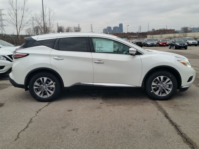 2016 Nissan Murano Sl Awd White Sherway Nissan New Car