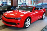 2015 Chevrolet Camaro CONVERTIBLE BRIGHT RED LEATHER RS PACKAGE LOW KM FINANCE AVAILABLE in Edmonton, Alberta